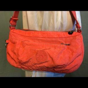 Orange Kipling Purse Bag Pocketbook